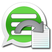 Ícone do Backup Text for Whats