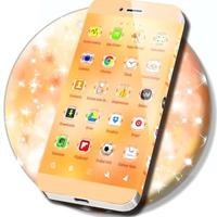 Glitter Gold Launcher icon