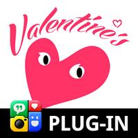 Ícone do apk Valentine - Photo Grid Plugin