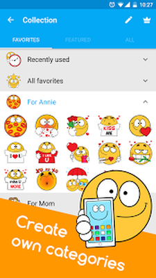 Ochat: emoticons for texting & Facebook stickers image 5
