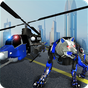 fuerza aérea robot policía juego lobo helicóptero 1.0