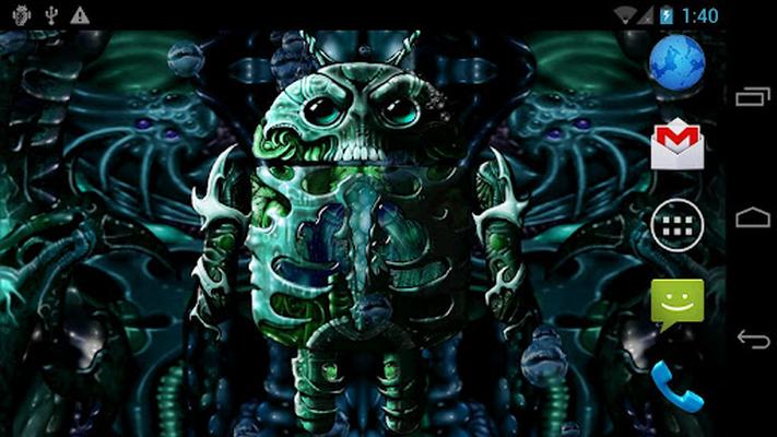 Biomechanical Droid Wallpaper image