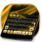 Gold and Black Luxury Keyboard 10001001