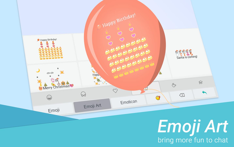 Farbe Emoji Tastatur App Android