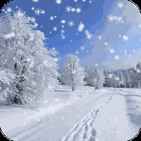 Ikona apk Zima Śnieg