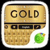 Ícone do apk gold go keyboard theme