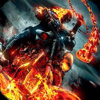 Ícone do apk Ghost Rider Live Wallpaper