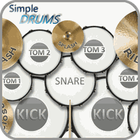 Иконка Simple Drums Free