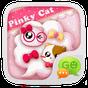 GO SMS PRO PINKYCAT THEME v1.0