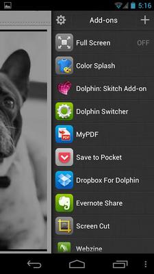 Baixar Dolphin Browser Beta 1 3 1 APK Android grátis