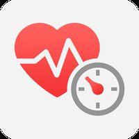 健康診断宝―血圧測定、視力測定、心拍数測定、聴覚測定、歩数計 APK アイコン