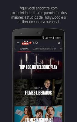 Telecine Play - Filmes Online Android - Baixar Telecine Play