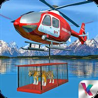 Animal Rescue: Army Helicopter icon