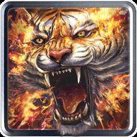 Ikon Wallpaper Hidup Api harimau