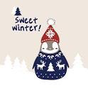 Peperico winter Go sms theme 1.00 APK