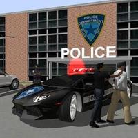 Icône de Pilote Crime City réel police