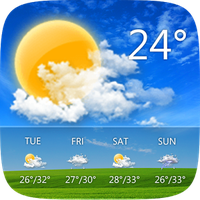 GO Weather Forecast & Widgets Simgesi