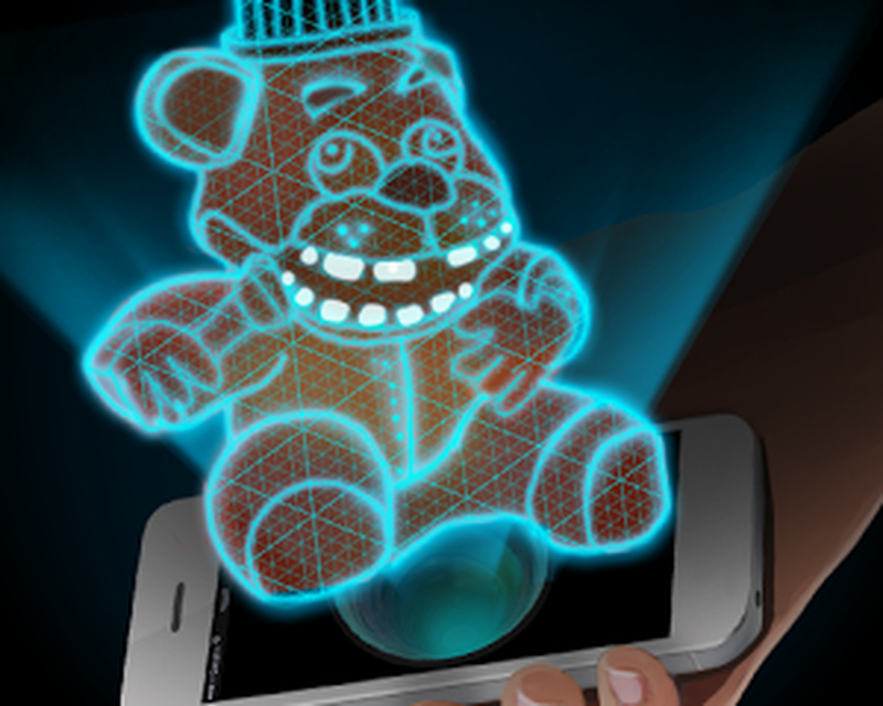 Hologram Fred 3D Simulator Android - Free Download Hologram Fred