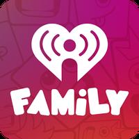 Ícone do iHeartRadio Family