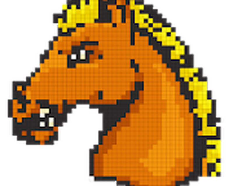 Horse Color by Number-Pixel Art Draw Coloring Book App ...