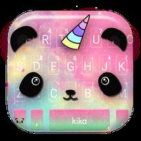 Cartoon Unicorn Panda Keyboard Theme icon