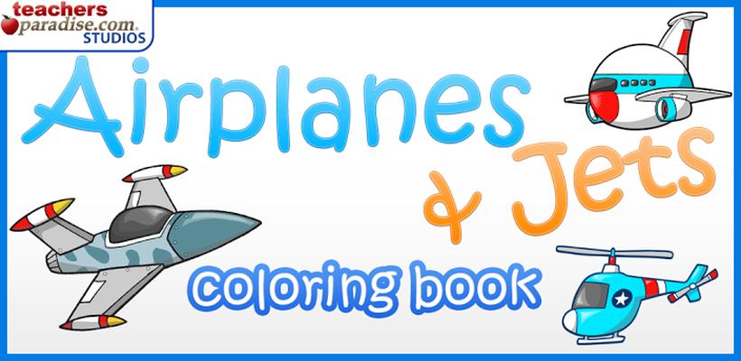 Descargar Aviones Libro para Colorear 3 gratis APK Android