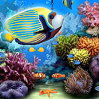 Ícone do apk Ocean Aquarium Live Wallpaper