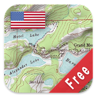 US Topo Maps Free icon