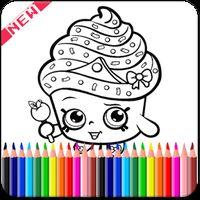 Ícone do apk ColorinbBook For Shopkin Fans