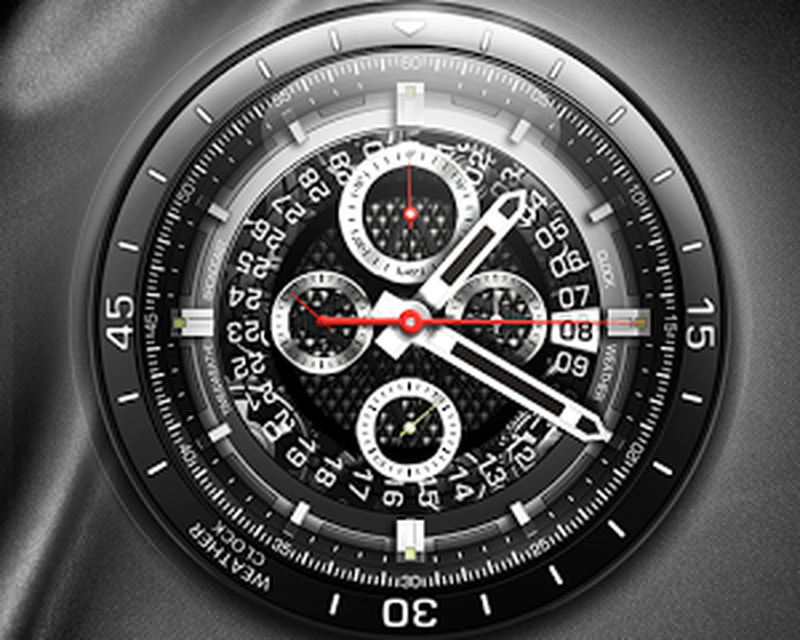 2018 Digital Analog Clock Wallpaper Live Android Free