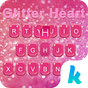 Glitter Heart Emoji Keyboard 24.0