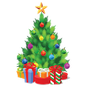 Christmas tree decoration 2.7