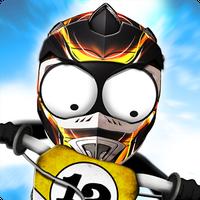Icône de Stickman Downhill Motocross