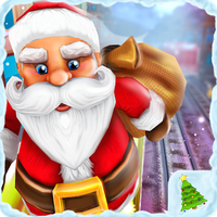 Icône apk De Santa Run Xmas Subway Surf