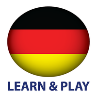 Learn and play. German 1000 words icon
