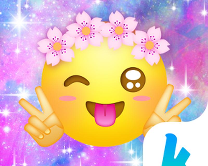 Cute Emoji Kika Keyboard Theme APK - Free download for Android