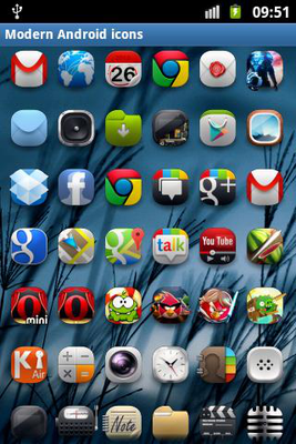 Modern Android icon pack Android - Baixar Modern Android icon pack Android  - Xynapse