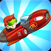 Superheroes Car Racing APK icon