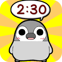 Pesoguin Clock Widget -Penguin icon