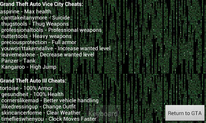 gta 3 vice city cheats hack android free download gta 3 vice
