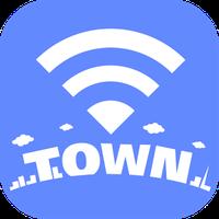 タウンWiFi 街中のWi-Fiに自動接続し速度制限から解放 アイコン