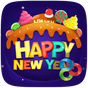 Sweet New Year Launcher Theme v1.0
