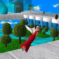 Running Princess in fantastic zigzag Simgesi