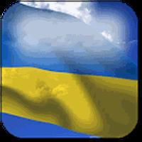 3D Ukraine Flag Live Wallpaper Simgesi