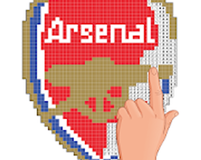 Pixel Art Football Logo Coloring Color By Number Android