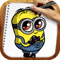 Draw Despicable Me apk icon