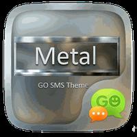 GO SMS METAL THEME apk icon