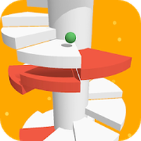 Icône apk Spiral Jump - Spiral Jumping Ball
