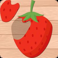 Çocuk Yapboz Oyunu:Yiyecekler Simgesi
