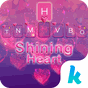 Shining Heart Keyboard Theme 12.0